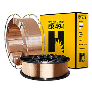 Сварочная проволока омедненная стальная Св-08Г2С (ER49-1/SG3) HCW-55A