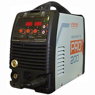 Сварочный полуавтомат VIKING 200 PRO(MIG/MAG/MMA/FLUX)
