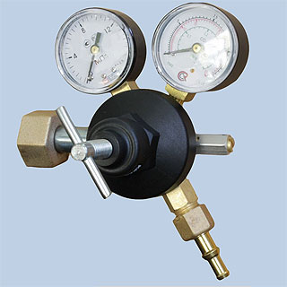 Регулятор расхода газа У-30-КР2 баллонный одноступенчатый