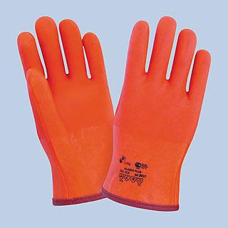 Перчатки МБС красные Аляска плюс с подкладом флис арт. 3027