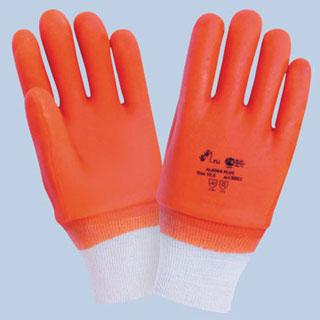 Перчатки МБС красные Аляска плюс с резинкой арт. 3002