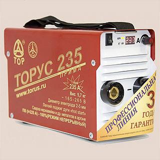 ТОРУС-235 ПРИМА сварочный инвертор (Россия)