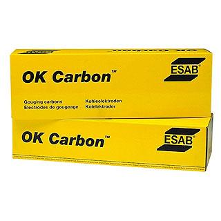 Угольные электроды ОК Carbon для резки и строжки ESAB (ЭСАБ)