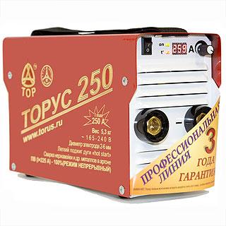 Торус-250 Экстра (НАКС) сварочный инвертор (Россия)