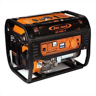 Бензиновый генератор ErgomaX ER 7800/3 фазы