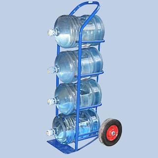 ВД 4 тележка для баллонов с водой