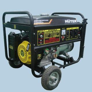 Электрогенератор DY8000LX с колесами (бензогенератор)