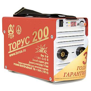 Торус-200 Классик сварочный инвертор (Россия)