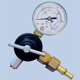 Регулятор расхода газа У-30-КР1-м баллонный одноступенчатый