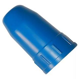 Колпак для баллонов защитный металлический кислородный (синий)