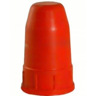 Колпак для баллонов защитный металлический пропановый (красный)