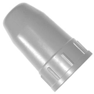 Колпак для баллонов защитный металлический закись азота (серый)