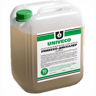Очиститель накипи и известковых отложений Унивеко-Дикалер
