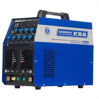 PRO IRONMAN 315 PULSE аппарат аргонодуговой сварки(TIG+MMA)