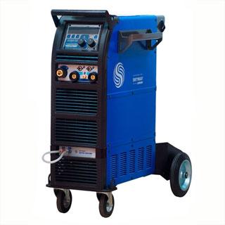 PRO SKYWAY 350 DUAL PULSE инверторный сварочный полуавтомат (сварка алюминия)
