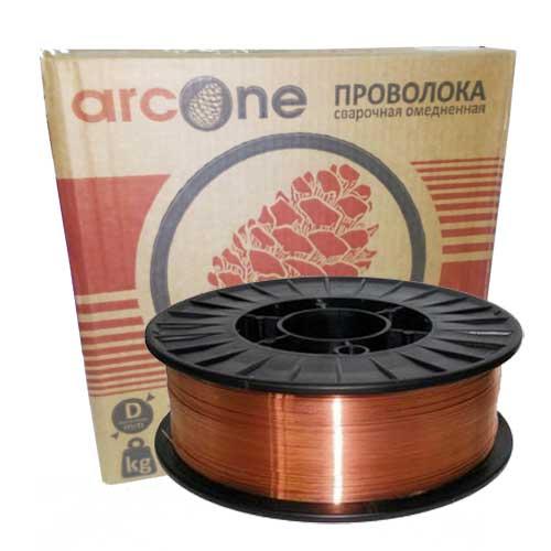 Проволока сварочная омедненная Arcone СВ08Г2С ф 1