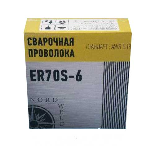 Сварочная проволока ER-70S-6 омедненная (диаметр 1