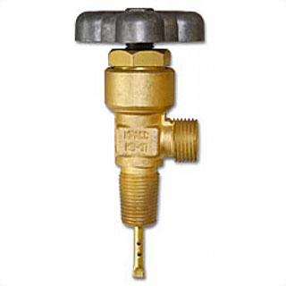 Вентиль баллонный КВ-1П (гелий)