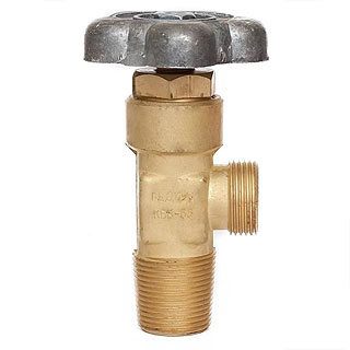 Вентиль баллонный КВБ-53 (гелий)