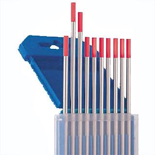 Вольфрамовые электроды WT 20 (цвет красный) с различным диаметром